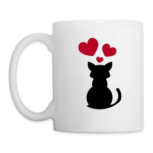 Cat In Love , animal - Mug