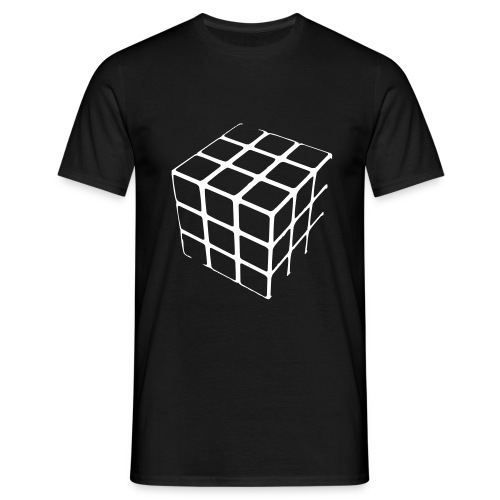 Rubics Cube Mens T Shirt - Men's T-Shirt
