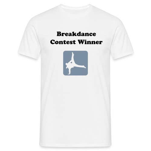 Breakdance Contest - Top of the Town - Men's T-Shirt