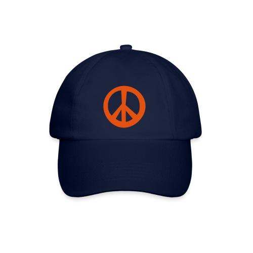 Peace- Zeichen - Baseballkappe