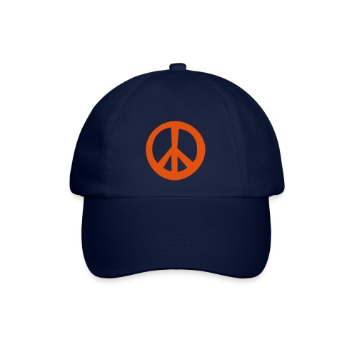 Cap mit Peace-Symbol - Baseballkappe