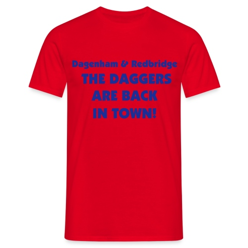 Dagenham & Redbridge - Men's T-Shirt