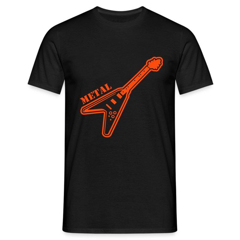 Metal Guitar - Camiseta hombre