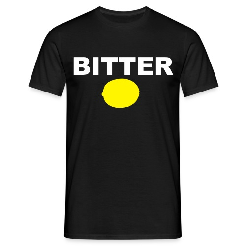 Bitter - Black Mens _comfort Fit - Men's T-Shirt