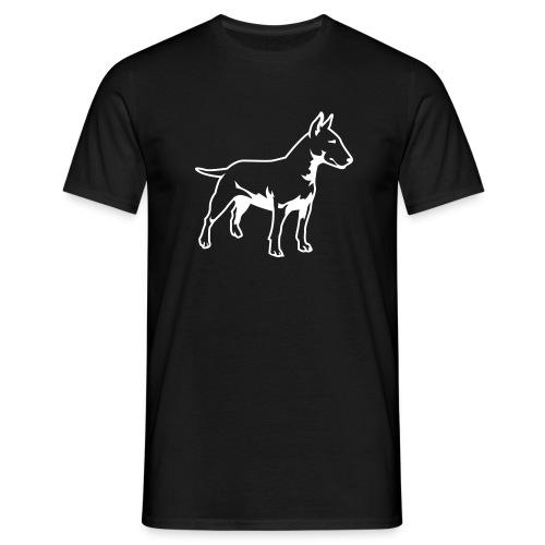 Mens Bull Terrier Tee - Men's T-Shirt