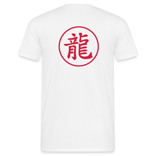 Dragon kanji - T-shirt Homme