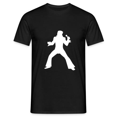 King Silhouette  - Men's T-Shirt