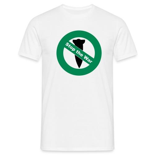 'Stop the War' T-Shirt [peace] - Männer T-Shirt