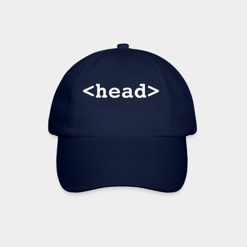 <head> Cap - Baseballkappe