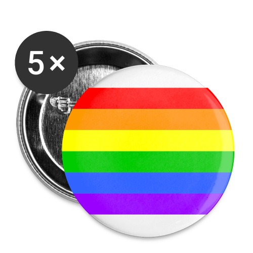 Gay Pride Badges - Buttons medium 1.26/32 mm (5-pack)