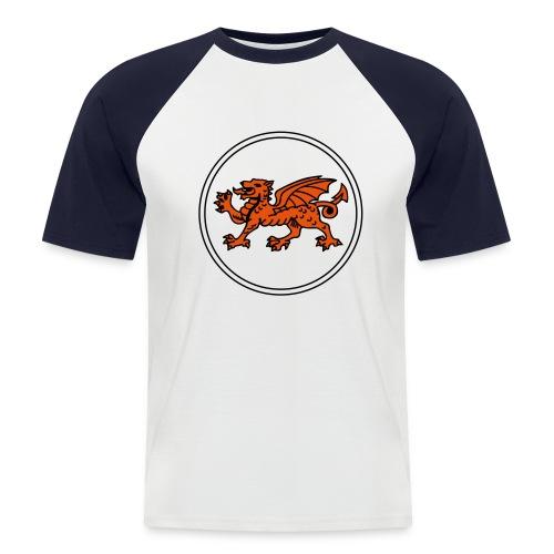 Wales - Männer Baseball-T-Shirt