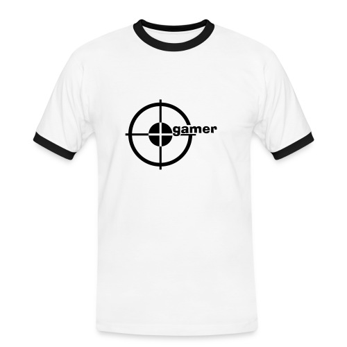 Gamer - Männer Kontrast-T-Shirt