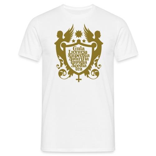 7 Todsünden - Männer T-Shirt