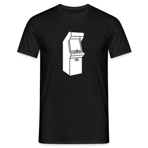 arcade schwarz - Männer T-Shirt