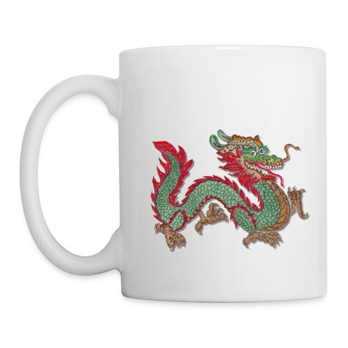Tee-Tasse mit Schutzdrache - Tasse