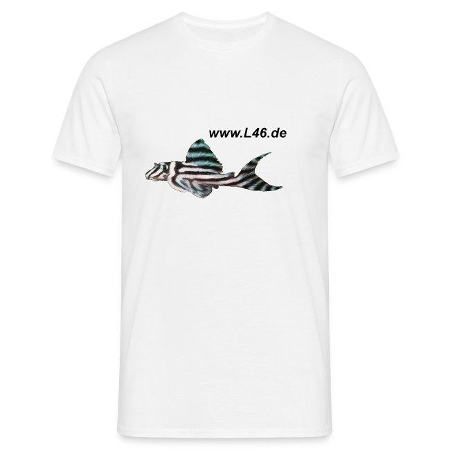 T-Shirt Weiß Logo zweiseitig groß