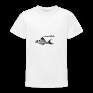 T-Shirts ~ Teenager T-Shirt ~ Kinder-T WSS Logo vorne, mittel, mittig