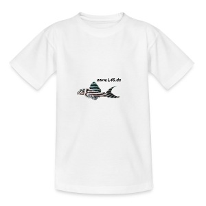Kinder-T WSS Logo vorne, mittel, mittig - Teenager T-Shirt
