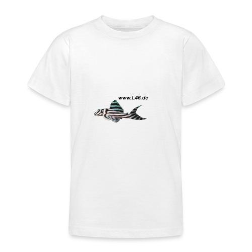 Kinder-T WSS Logo zweiseitig mittel+groß - Teenager T-Shirt