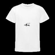 T-Shirts ~ Teenager T-Shirt ~ Kinder-T WSS Logo zweiseitig klein+groß