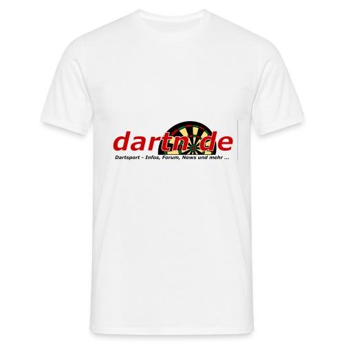 Classic-T-Shirt - dartn.de Logo - Männer T-Shirt
