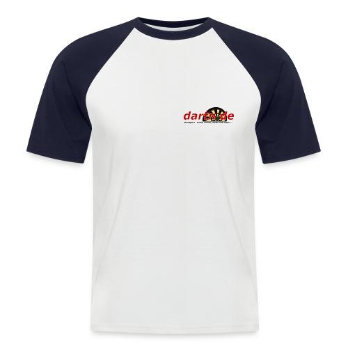 Baseball-Shirt - Zitat R. van Barneveld - Männer Baseball-T-Shirt