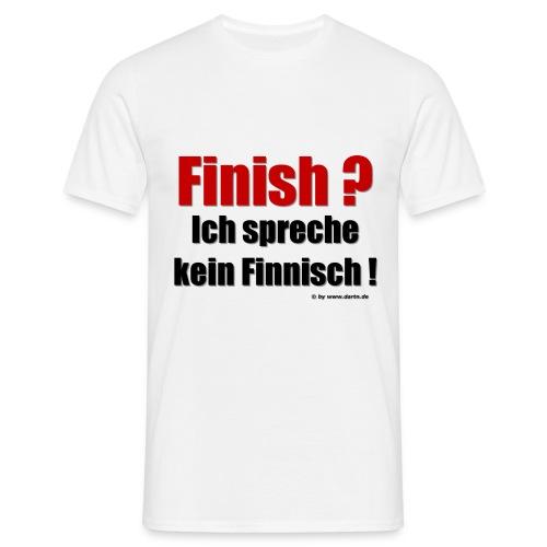 Classic-T-Shirt - Ich spr. kein Finnisch - Männer T-Shirt