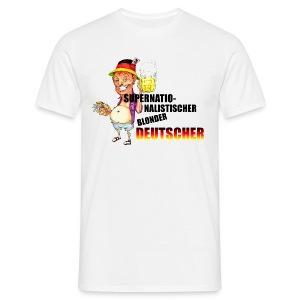 Deutscher Urlauber - Männer T-Shirt