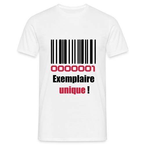 Examplaire Unique! - T-shirt Homme