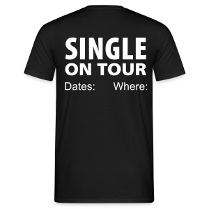 SINGLE ON TOUR, Personnailsable - T-shirt Homme