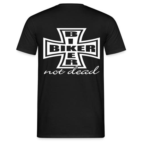 Biker not dead - T-shirt Homme