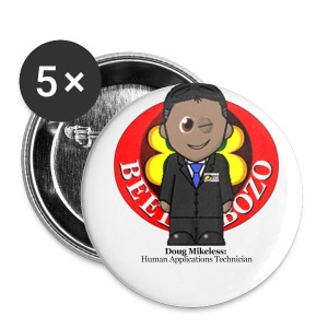 My very own biometric name badge - Doug - Buttons small 25 mm