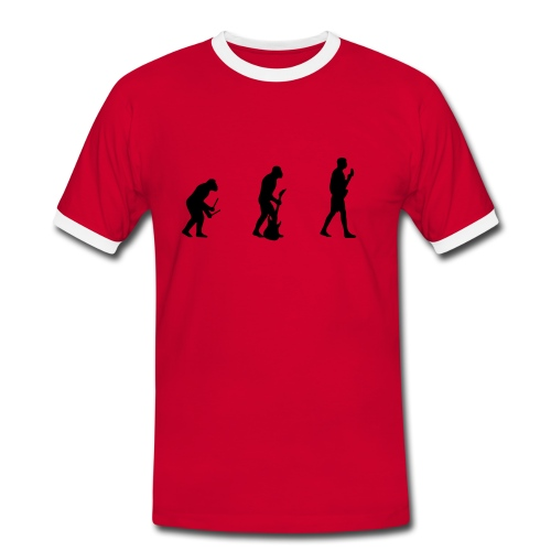 Evolution of Man - Men's Ringer Shirt