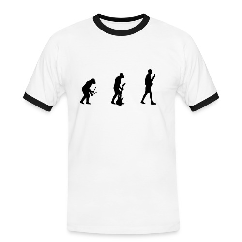 Evolution of Man - Men's Ringer Shirt