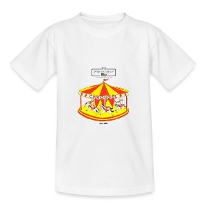 Carousel children t-shirt - Teenage T-shirt