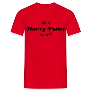 Den Harry Potter stierft!/... oder net? - Men's T-Shirt