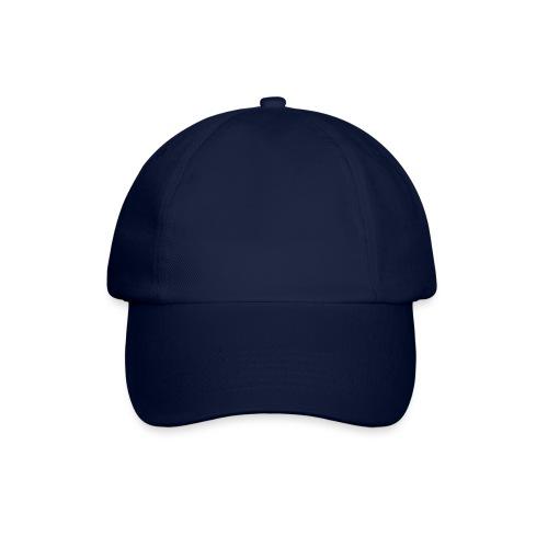 6-Segment-Base Cap ROT Blank - Baseballkappe