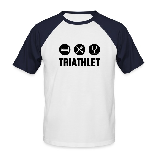 TRIATHLET - Männer Baseball-T-Shirt