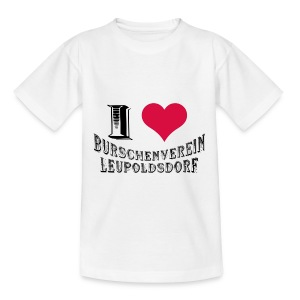 Kinder T-Shirt - I love BVL - Teenager T-Shirt