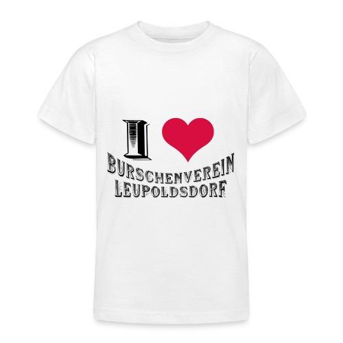 Kinder T-Shirt - I love BVL - Teenager T-Shirt