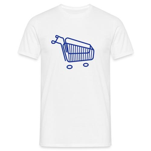 Einkaufswagen - Männer T-Shirt