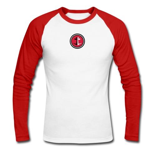 Anker Longsleeve - Männer Baseballshirt langarm