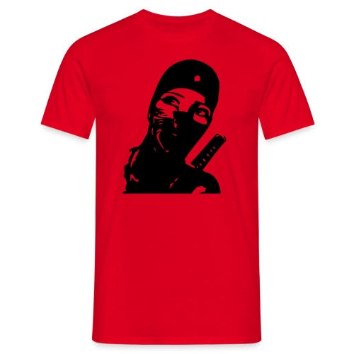 ninjawoman - Männer T-Shirt