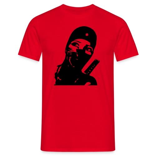 Ninjafrau - Männer T-Shirt