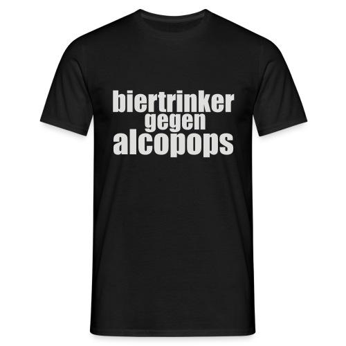 BGA Schwarz Klein - Männer T-Shirt