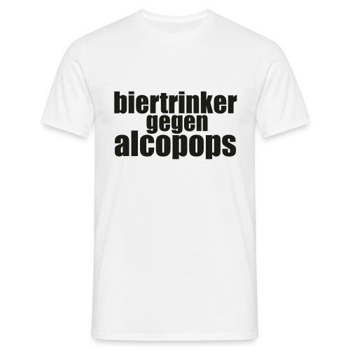 BGA Weiss klein - Männer T-Shirt
