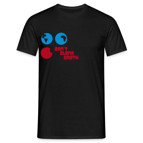 can'*t clone earth - Männer T-Shirt