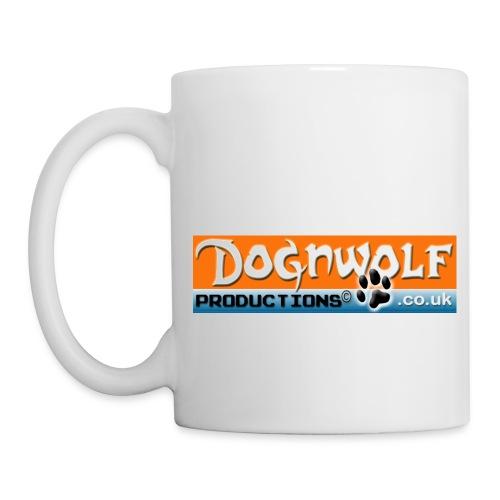 coffee mug whi DOGNWOLF. - Mug
