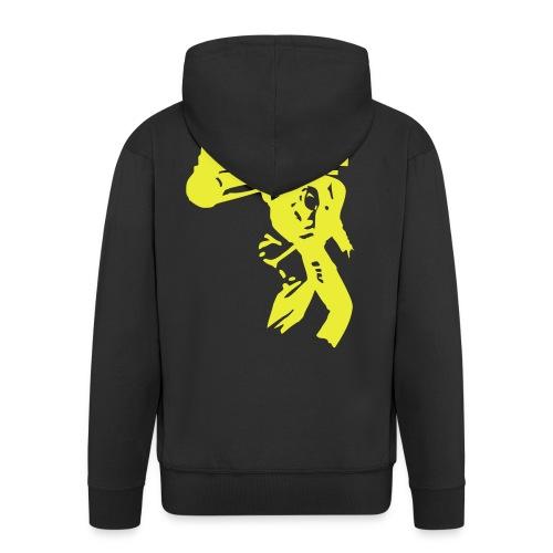 Dirty Larry Hettejakke - Men's Premium Hooded Jacket