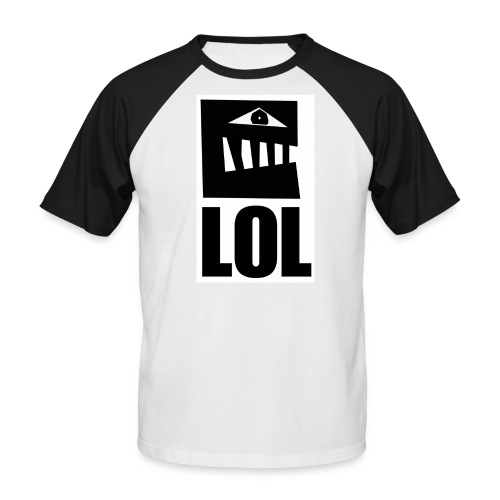 lol 3 - T-shirt baseball manches courtes Homme